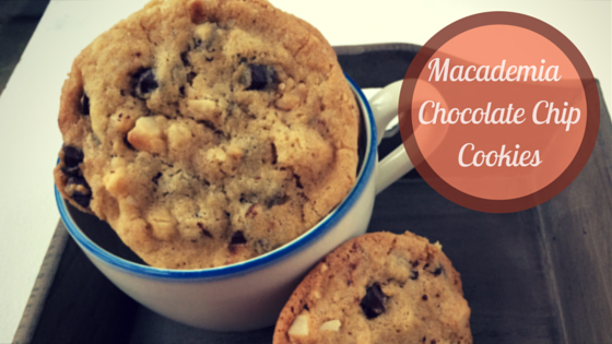 Macademia Chocolate Chip Cookies