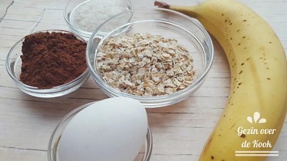Gezonde magnetron cake ingredienten