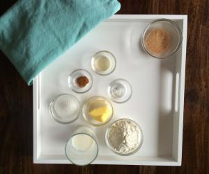 Ingredienten mugcake kaneel